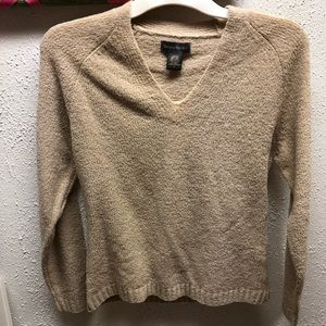 Tan wool sweater new with tag